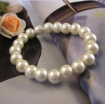 Korea Glass Pearl String Bracelet