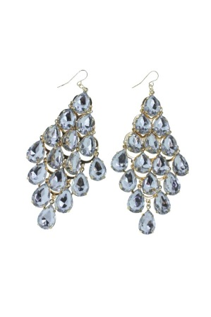 Gorgeous Diamond Bling Bling Earrings
