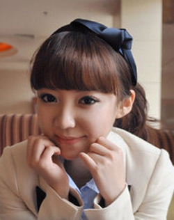 Korea Solid Color Satin Bow Hairbands