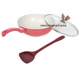 Recommend Healthy Fumesless Nano Nonstick Frying Pan
