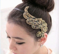 Korea Ornaments Rice Pearl Headband