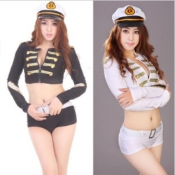 Clearance Retro Babes Police Uniform Police Costume