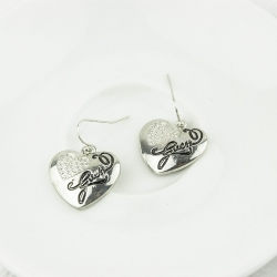 Gorgeous Heart Shape Earrings SILVER
