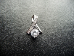 Clearance S925 Classic Dazzling Diamond Pendant Only