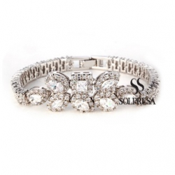 Solpresa True Love Zirconium Diamond Bracelet