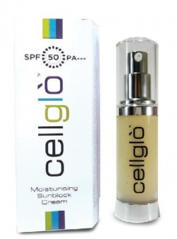 "Cellglò Moisturising Sunscreen Cream效阔 ""保湿防晒乳"" 30ml"